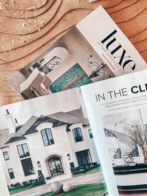 Luxe Interiors + Design May/June 2021
